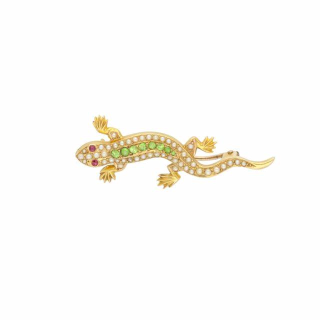 BR-188_Paulinesjewellerybox_Salamander-Brooch_1