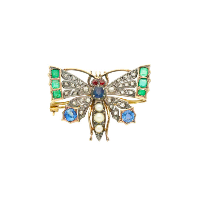BR-195_Paulinesjewellerybox_Butterfly-Brooch_1