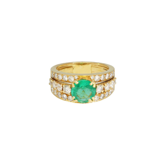 R-010_paulinesjewellerybox-emerald-diamond-ring