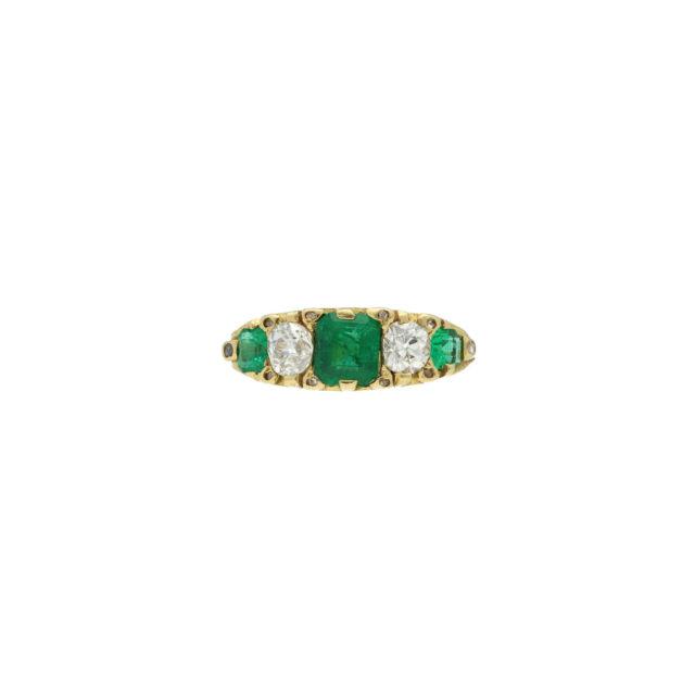 R-498-emerald-Paulinesjewellerybox-rings