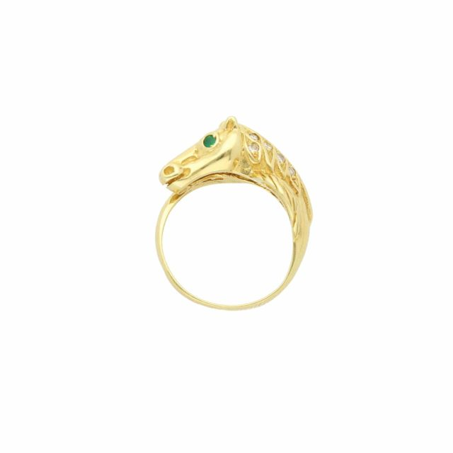 R-767_Paulinesjewellerybox_Horse+Dia+Emer-Ring_1